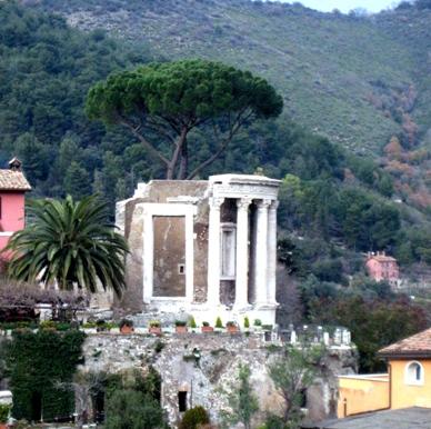 Villa adriana il ponte lucano ed il mausoleo dei plautii